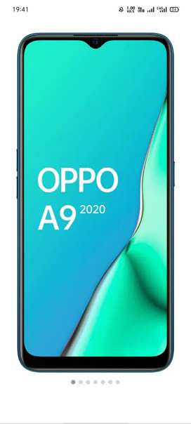 Oppo a9 2020 8gb ram 128 internal