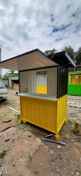 Booth Container Surabaya, Gerobak Kontainer