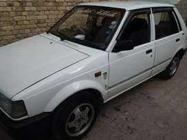 charade car. white colour 1988 model. fully decorated. Original engine
