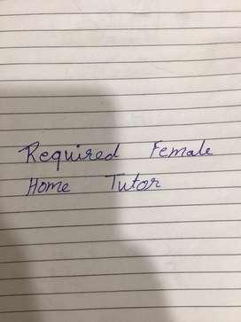 Female Home tutor