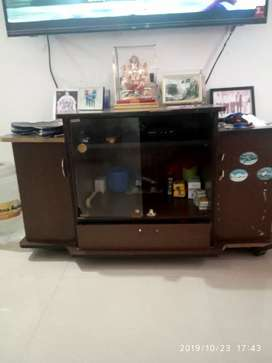 Tv table brown