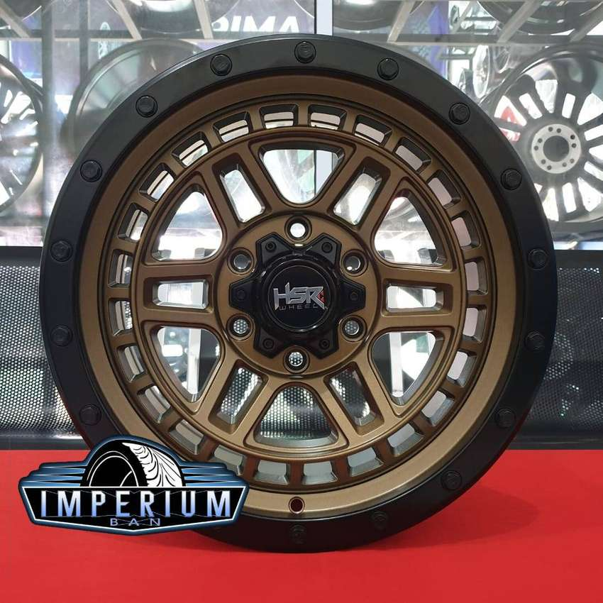 Velg Mobil Fortuner Pajero Hilux DC Triton Ring 17 HSR 0