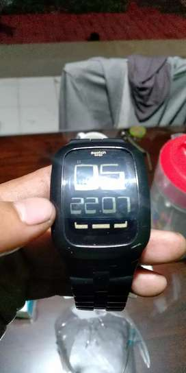 SWATCH TOUCH BLACK / GOLD & PIONEER 2011 SURB112