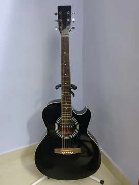 INFINITY ACOUSTIC GUITAR WITH PICK UP (Negotiable)