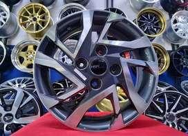 Velg Mobil Pelek Racing MILLION 50183 Ring 15 - Standar Xenia Avanza