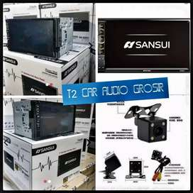 Promo besar besaran 2din SANSUI JAPAN android link 7inc+camera hd gan