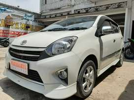 For sale Agya G 1.0 MT TRD 2014 putih