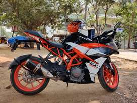 KTM RC 390 for sale - Less used, Showroom track, First owner