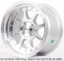 SC-03  HSR R16X89 H4x100 ET3025 -best for jazz dll