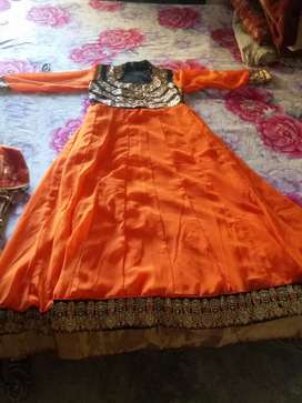 Long Frok Suit with dupatta and legi