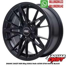 Velg mobil DRANG HSR Ring 15x6,5 Baut 4x100 Jazz Brio Calya Agya dll