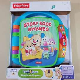 Fisher Price & Laugh Rhymes Book