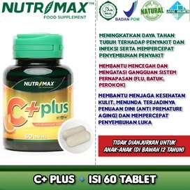Nutrimax C plus - Daya tahan tubuh, mengatasi sakit gigi, stamina imun