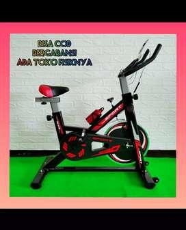 alat fitnes sepeda statis spining bike life sports promo