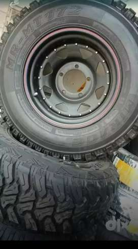 OFF Road Tyres & Rims For Sale