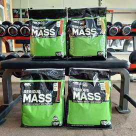 ON Serious Mass 12 lb lbs Optimum Nutrition weight gain gainer