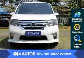 [OLX Autos] Nissan Serena 2.0 Highway Star bensin A/T 2014 Putih