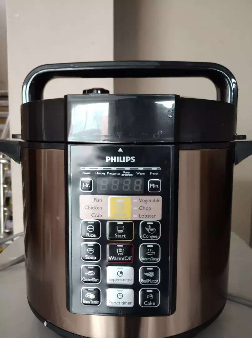 Philips electric pressure cooker 0