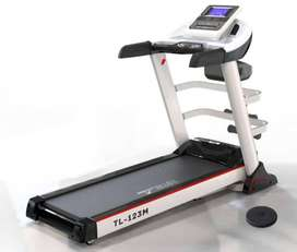 Treadmill elektrik murah merk Total fitness Tipe TL123M Multifungsi
