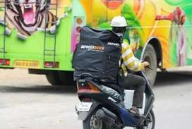 Urgent Requirement Delivery Boy  only Biker