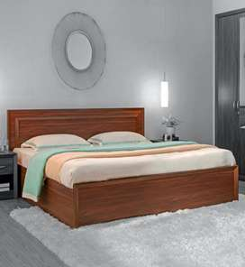 Bed with Storage (Queen Size) with Mattress available for sale (New)