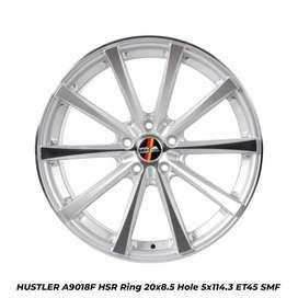 free ongkir HUSTLER A9018F HSR R20X85 H5X114,3 ET45 SMF