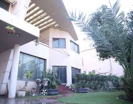 DHA Furnished Kanal House 4 Bed For Rent Pool 1 Month to Year in 3 Lac