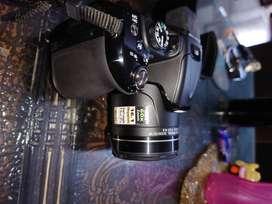 Rarely used Nikon coolpix P600 DSLR camera