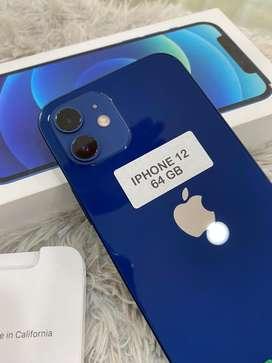 IPHONE 12 64GB BIRU!