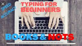 Typing for Beginners Handbook & Typing Notes