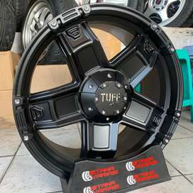 READY Velg 20 TUFF OFFROAD 6Hole Pajero Fortuner Triton Hilux dll