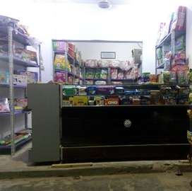 Shop Counter and recks