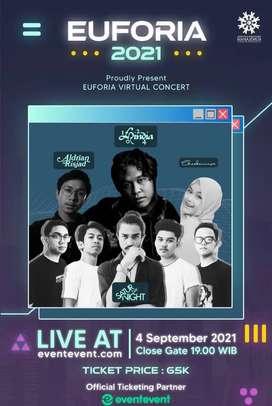 Tiket EUFORIA Concert 2021
