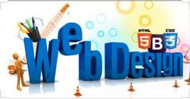I want web designer. Jo web site's design kre.1 to 2 saal Experience.