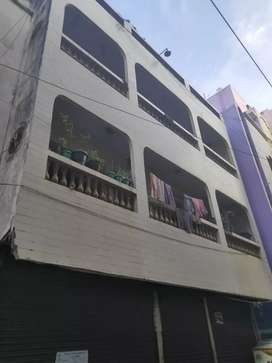 Individual house with 2 commercial shop and 4-2bhk. Near mannady metro