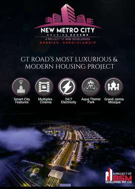4 Marla Commercial Plot For Sale In New Metro City  Lahore