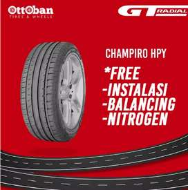 Ban  GT radial champiro HPY 225 45 R18 rush ertiga