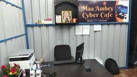 CYBER CAFE WITH LATEST SYSTEM IN SHANKAR NAGAR RAIPUR CHHATTISGARH
