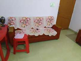 Branded sofa set with dining set