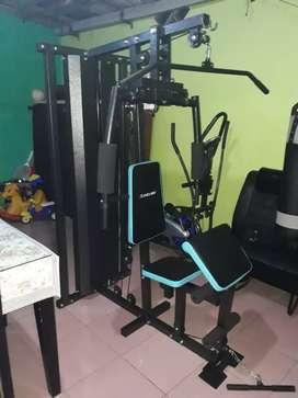 Home gym 1 sisi ( besi kuat bergaransi 1 tahun )bisa cod