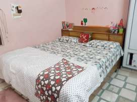 Self adhesive king size bed