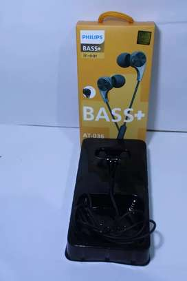 Headset Philips Orginal AT-036 Bass+