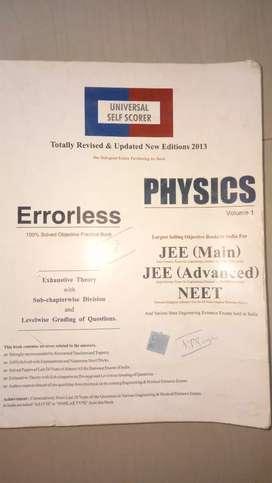 Physics JEE mains exam book
