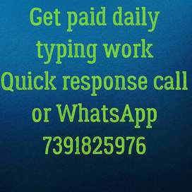 job simple typing work at your home