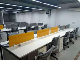 Fully furnished commercial office space is available on lease/rent