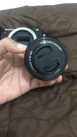 Camera sony a6000 mulus dan lensa