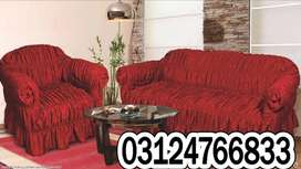 Sofa Covers traditional, and Colonial ambiance giving a warm and