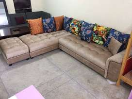 best offer Free Home Delivery Corner sofa brand new