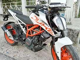 KTM bike single hand