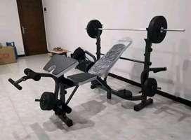 Alat olahraga Kebugaran _ Bench press